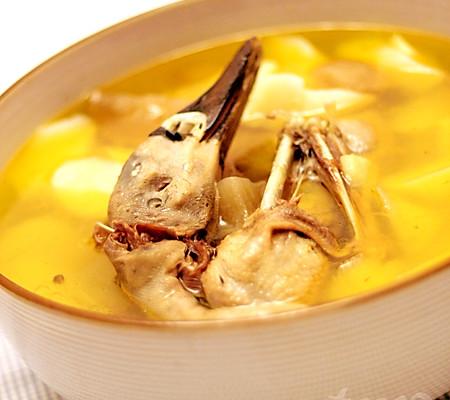 山药老鸭汤的做法