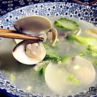 蛤蜊丝瓜汤#肉肉厨