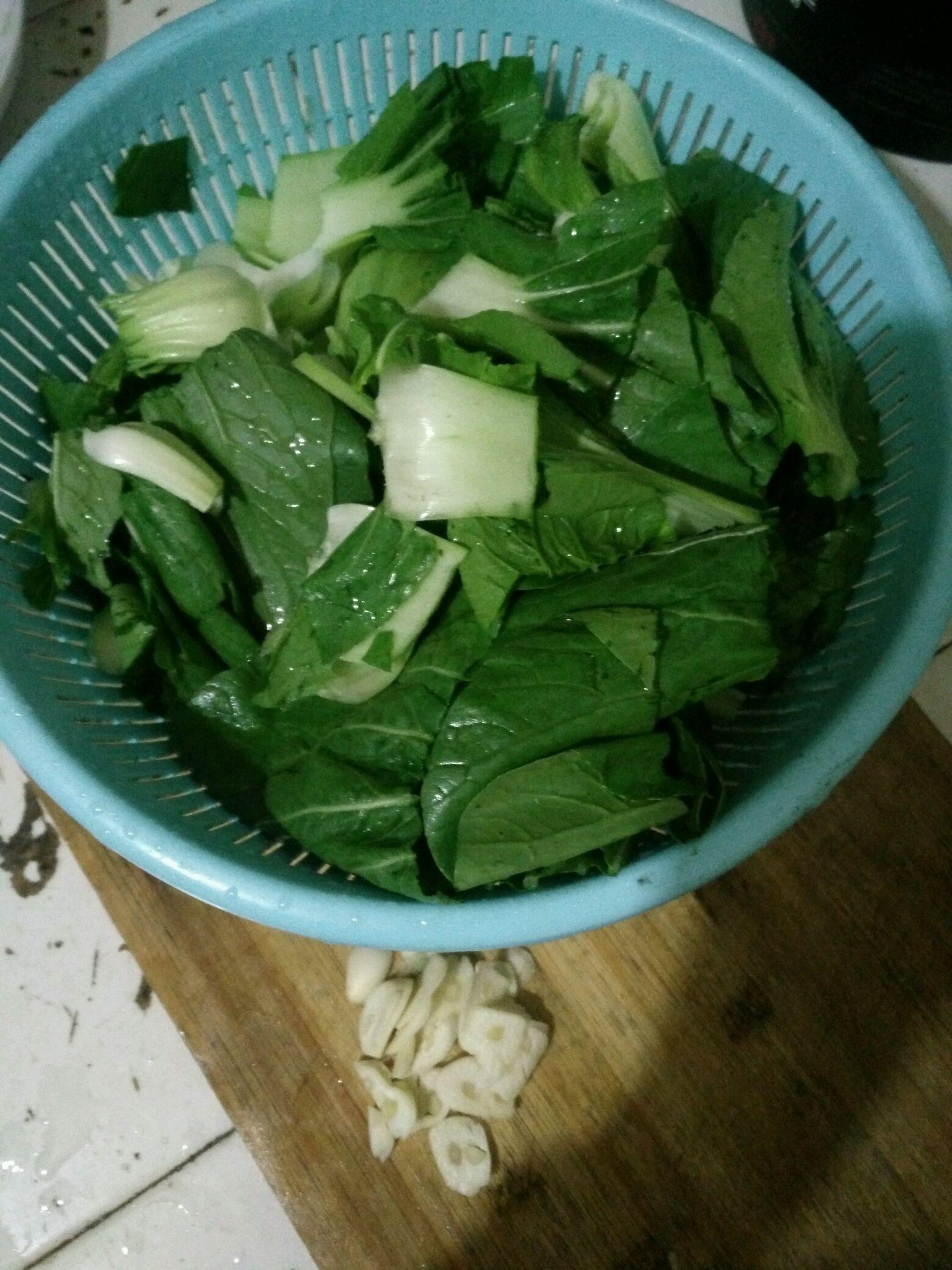 炒青菜的做法步骤