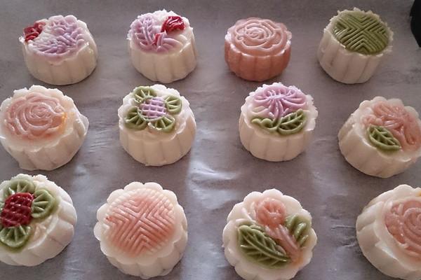 冰皮月饼的做法_【图解】冰皮月饼怎么做好吃