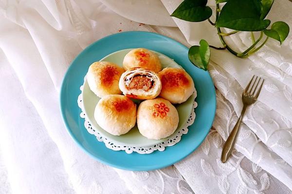 """苏式鲜肉月饼#享""""美""""味#的做法"""