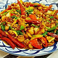 爆炒海灵菇(适用于各种辣炒海鲜)