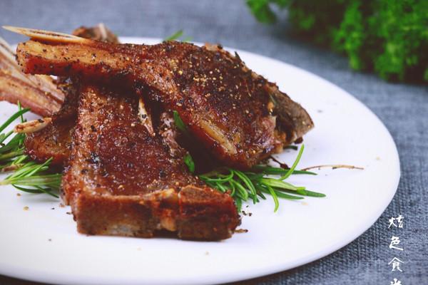 香烤羊排#美的烤箱菜谱#的做法