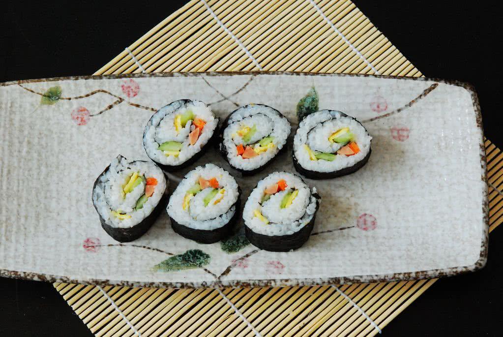 家常寿司饭团的做法图解5