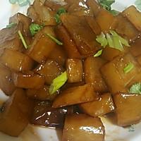 蚝油鲍汁萝卜