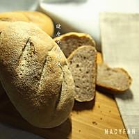 健康杂粮面包#美的烤箱菜谱#