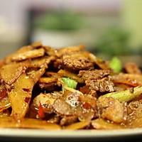土豆盐煎肉