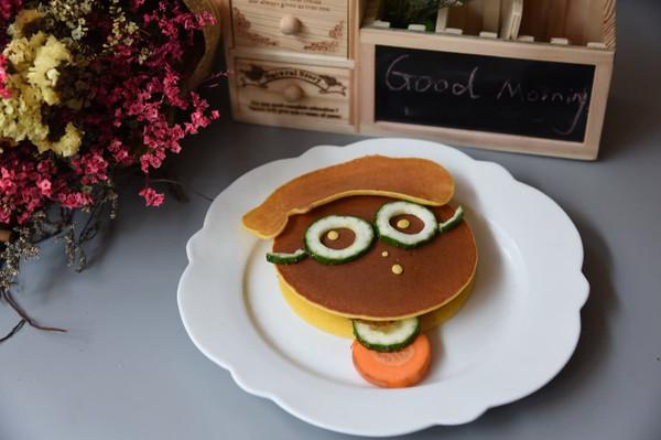 卡通 铜锣烧 孩子们最爱的早餐