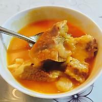 番茄土豆牛腩浓汤