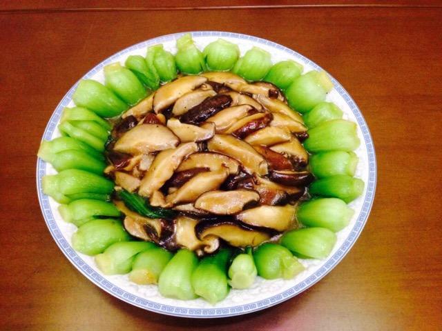 香菇青菜的做法_【图解】香菇青菜怎么做如何做好吃