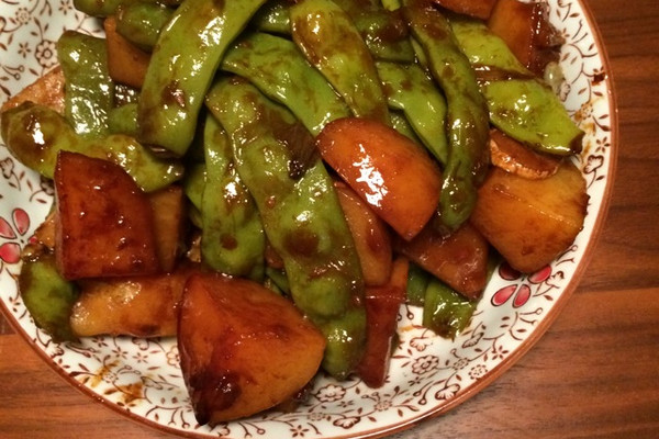 土豆炖豆角的芥末v土豆吃做法好吗图片