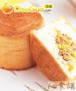 千层鲔鱼面包的做法