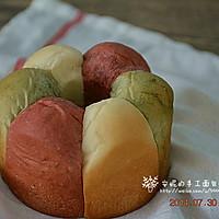 三色花朵面包#长帝烘焙节#