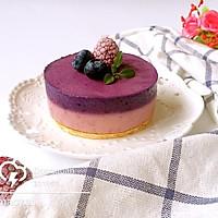 双莓慕斯蛋糕#有颜色的实力派#