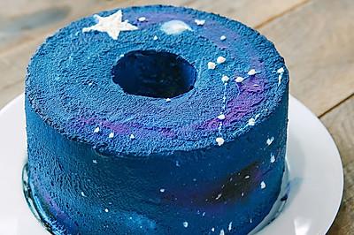 星空戚风蛋糕#不思烤就很好#老板R015烤箱试用