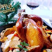 圣诞烤鸡#圣诞烘趴.为爱起烘#