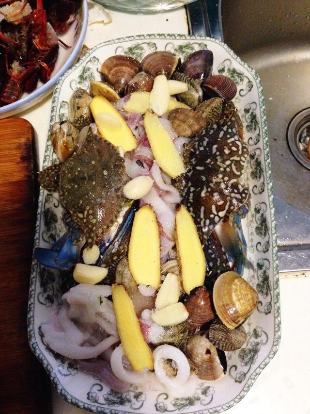 爸爸的菜谱之海鲜大拼盘