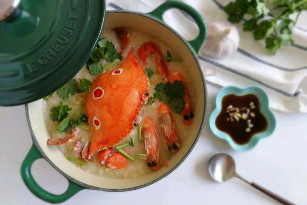 生滚海鲜粥#厨此之外,锦享美味#的做法