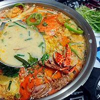 海鲜牛奶火锅-盒马鲜生火锅节-蜜桃爱营养师私厨蛋白质餐