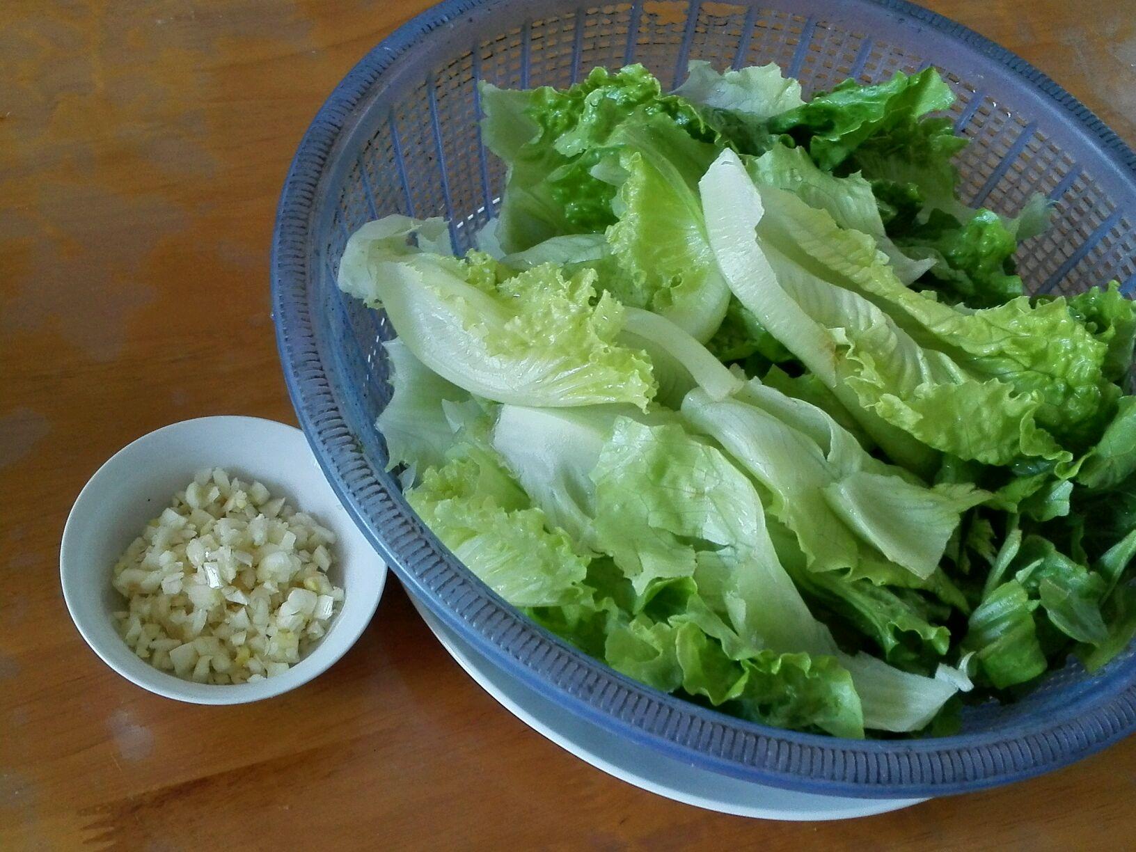 蚝油生菜的做法步骤