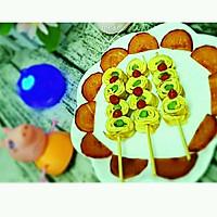 芦笋鸡蛋卷(棒棒糖版)#嘉宝笑容厨房#的做法图解11