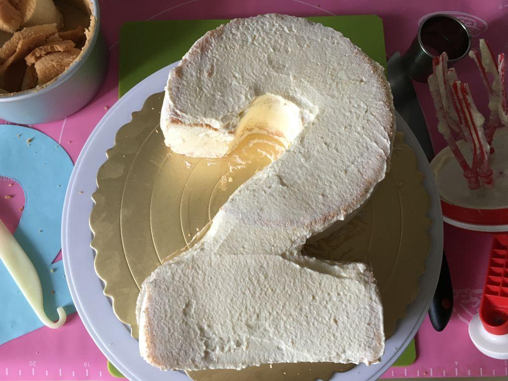 2岁赛车翻糖蛋糕#约会mof#的做法图解21