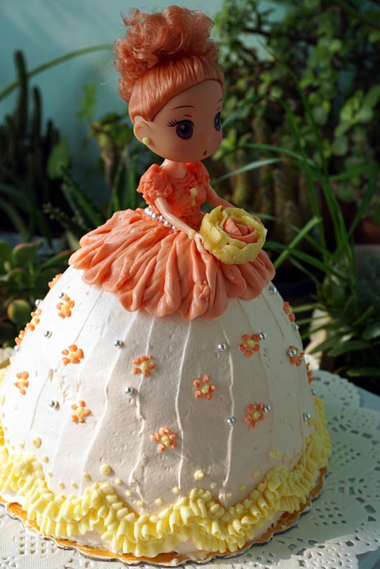 芭比娃娃蛋糕的做法_【图解】芭比娃娃蛋糕怎么做如何