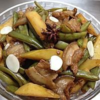 马铃薯焖豆角
