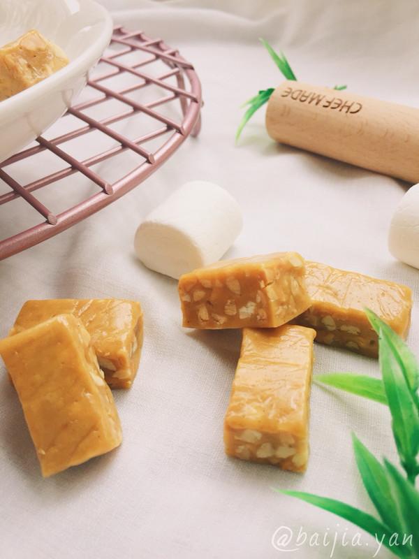 熟豆粉版牛轧糖