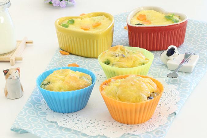鸡蛋蔬菜杯 宝宝辅食微课堂