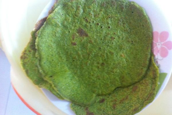 BB营养菠菜饼的做法