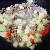 土豆羊肉莜面鱼#西贝莜面争霸赛#的做法图解8
