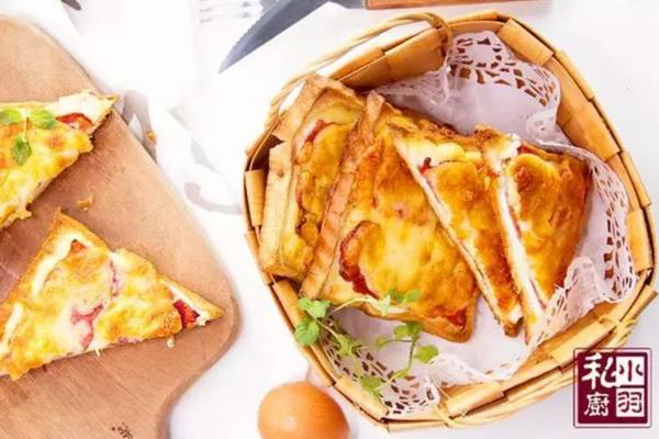 小羽私厨之蛋黄酱鸡蛋吐司的做法
