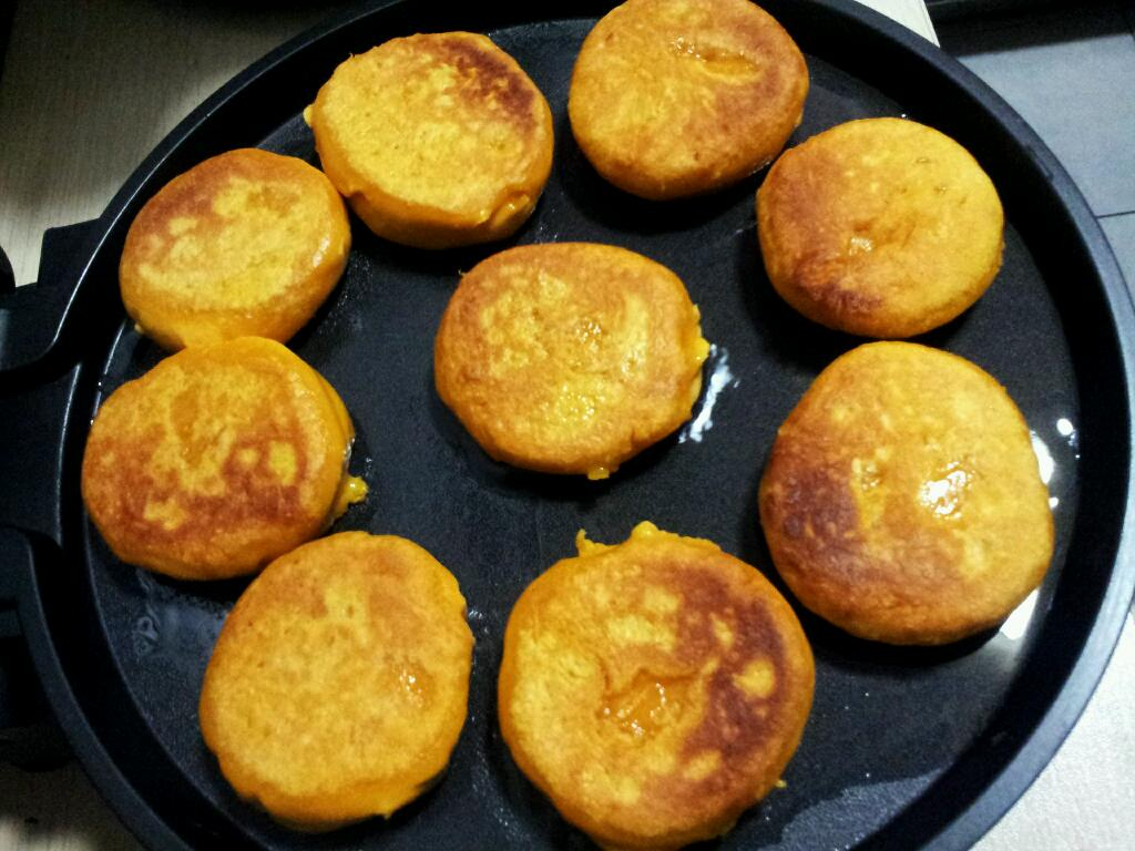 如何做好吃的南瓜饼_简单易做的南瓜饼的做法_【图解】简单易做的南瓜饼怎么做如何 ...