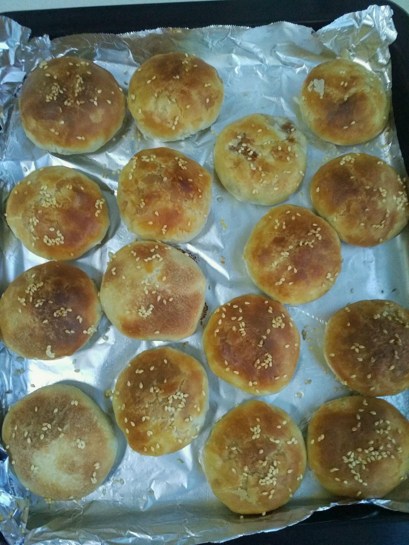 缸炉烧饼(烤箱版)的做法图解12
