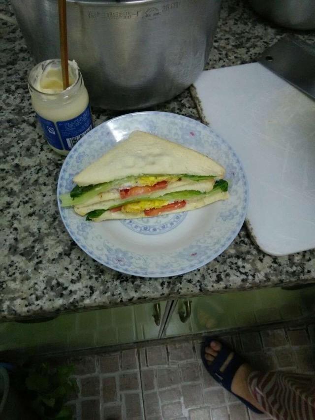 三明治(西式早餐)的做法图解4