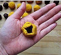 酒酿南瓜豆沙圆的做法<!-- 图解2 -->