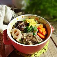 杂蔬猪骨一锅炖#给老爸做道菜#