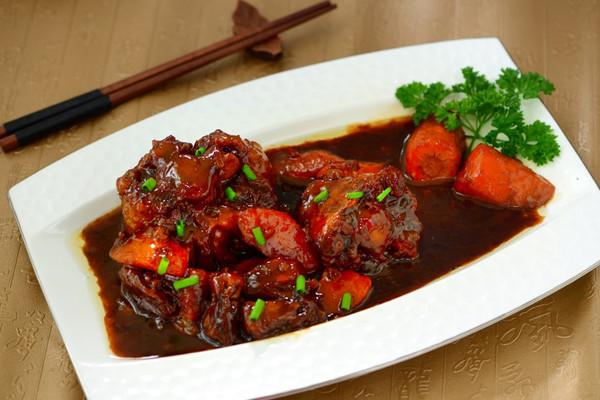 用手机看这个菜谱扫一扫边看边做更烹饪原料方便作为牛尾雪日式平锅菜谱图片