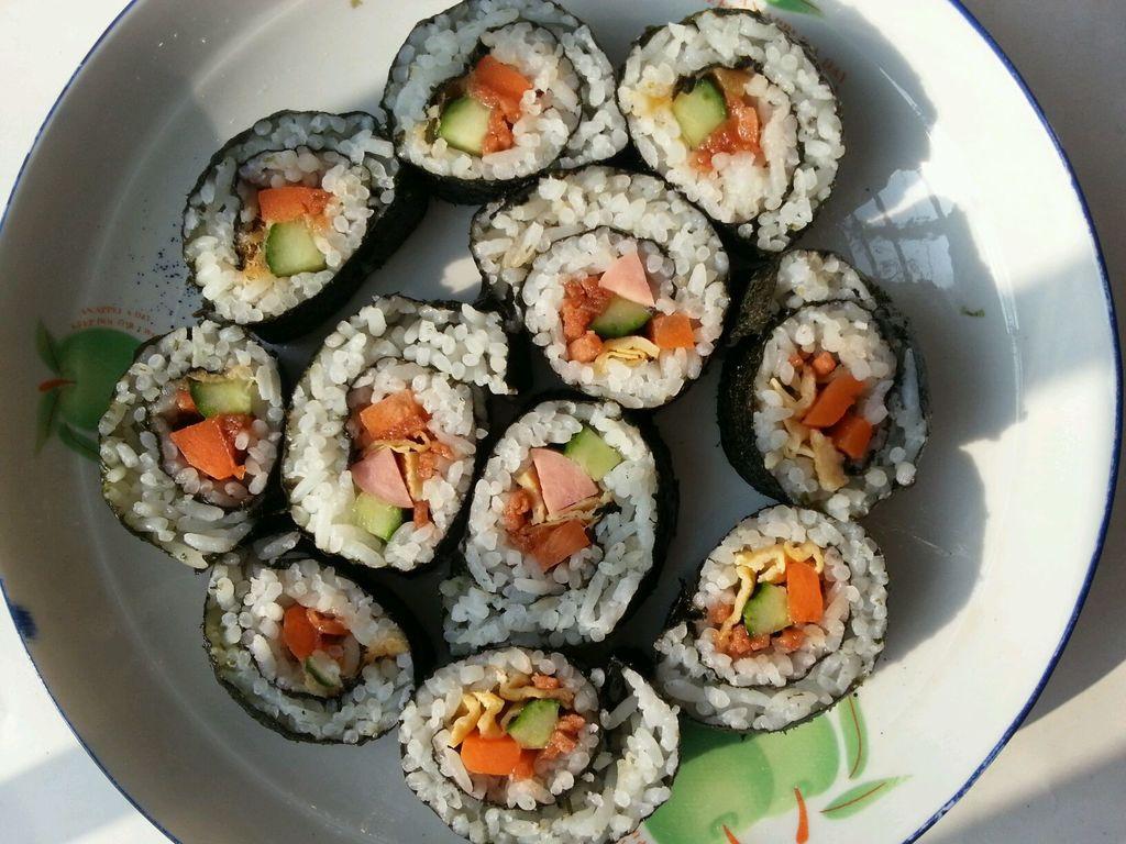 最简单易学寿司卷的做法图解3
