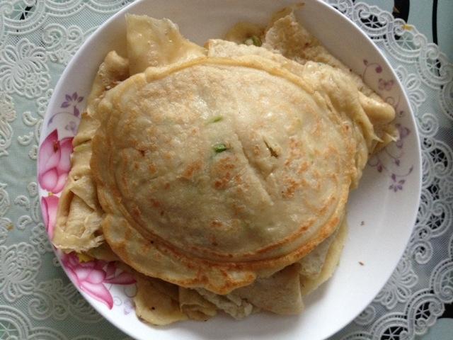 面食—葱花五香面糊的做法步骤