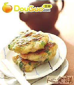 香煎韭菜饼的做法
