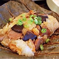 豪华版粽子——馅料丰富的荷叶糯米鸡