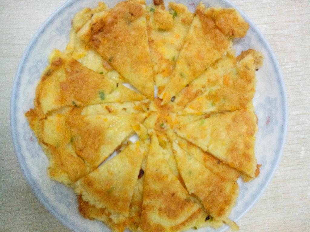 鸡蛋煎饼~~香喷喷的做法图解2