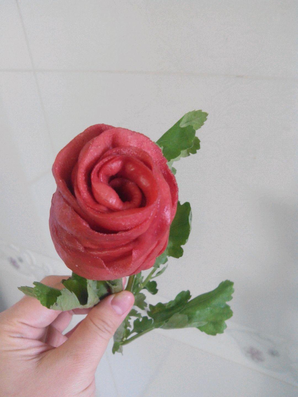 玫瑰花的做法_【图解】玫瑰花怎么做如何做好吃_玫瑰