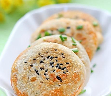 葱香红油煎饼的做法