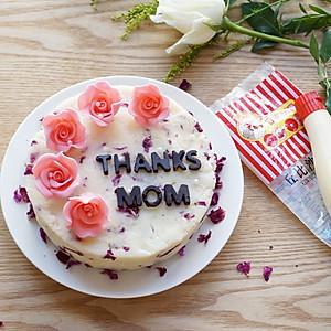 玫瑰山药蛋糕-丘比沙拉酱、果酱