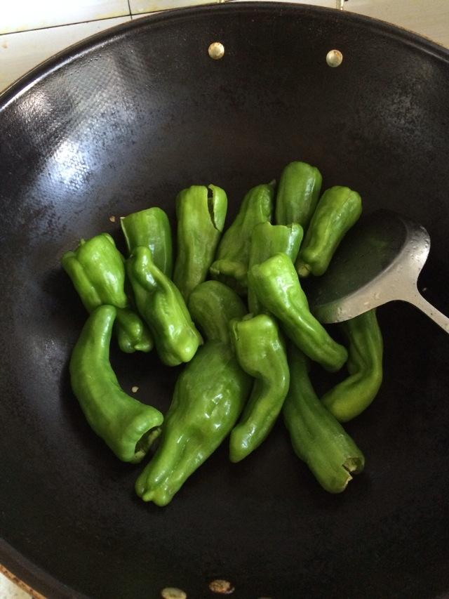 虎皮青椒的做法步骤