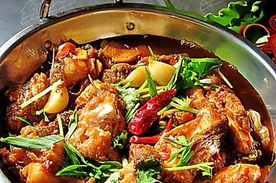 干锅香辣鱼块