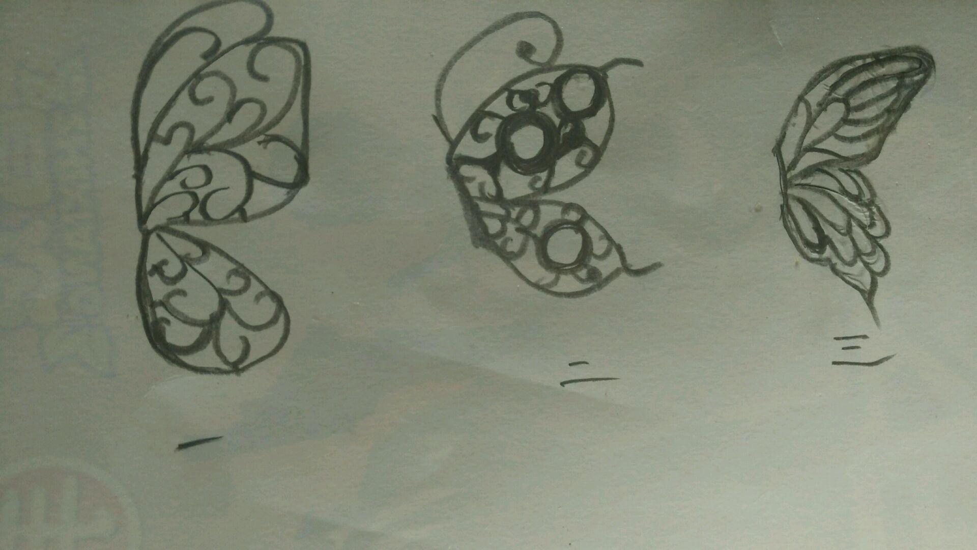 巧克力镂空蝴蝶的做法步骤